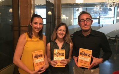 Elisa addresses the Global Social Entrepreneurship Network